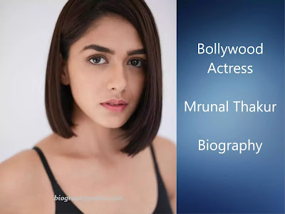 Mrunal Thakur Biography in Hindi