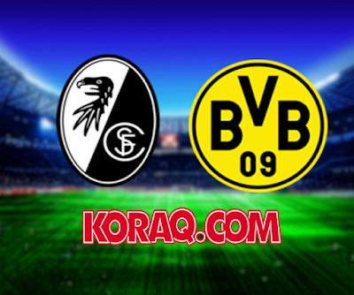 مباراة بوروسيا دورتموند وفرايبورج بتاريخ 01-12-2018 الدوري الالماني