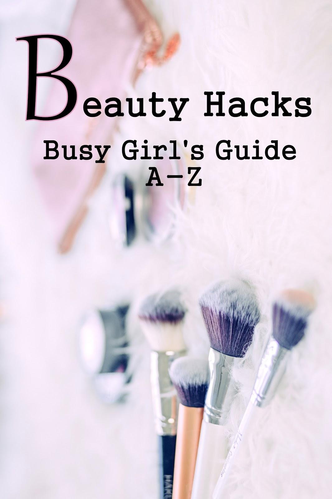 beauty hacks für beschäftigte frauen
