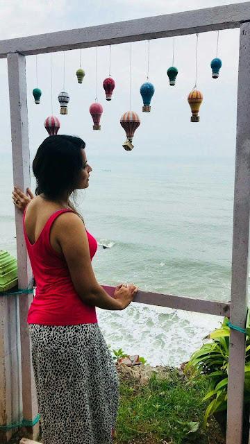 Anasuya Bharadwaj on Vacation Unseen Photos Navel Queens
