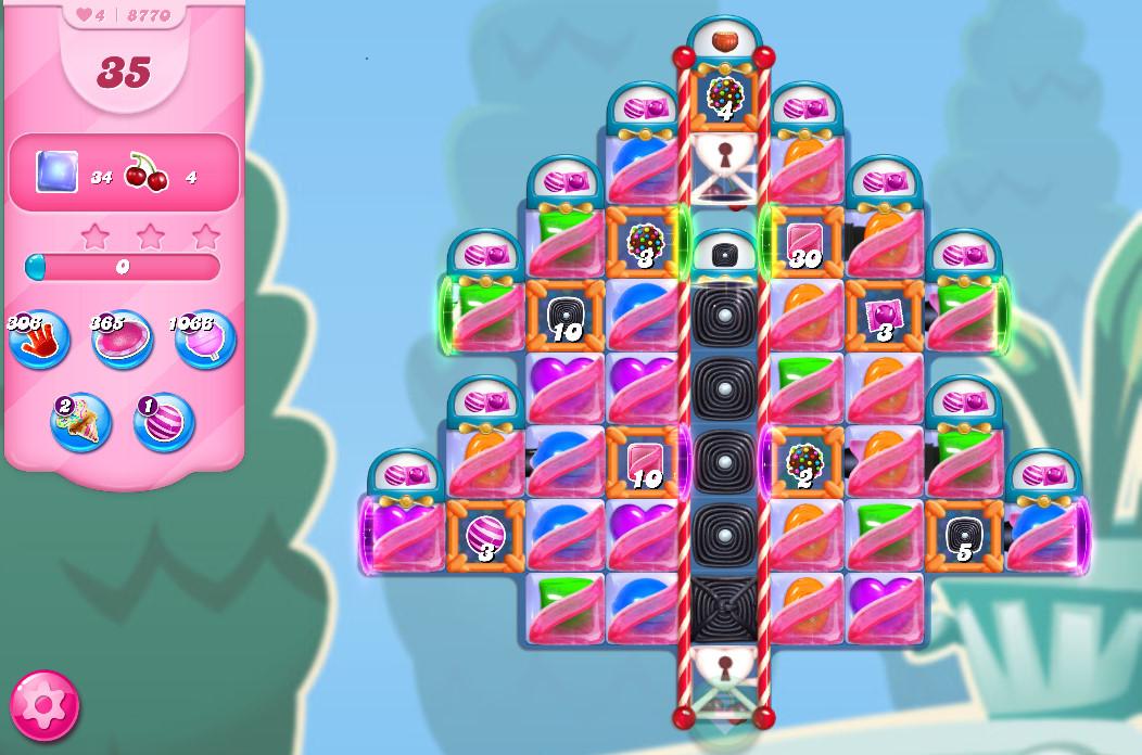 Candy Crush Saga level 8770