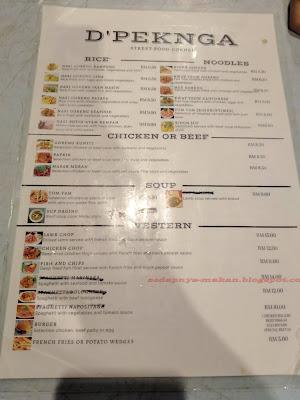 senarai menu
