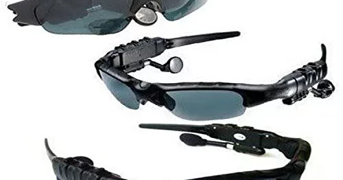 Mp3 Player Sunglasses Goggles Expandable Up to 32gb