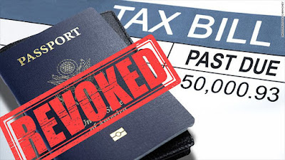 U.S. Expats passports to be revoked if owing IRS back tax debt