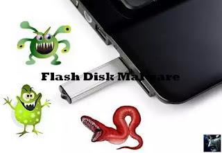 Cara amankan Flashdisk dari virus Malware