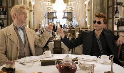 """Azirafel y Crowley, los dos protagonistas de """"Good Omens"""""""