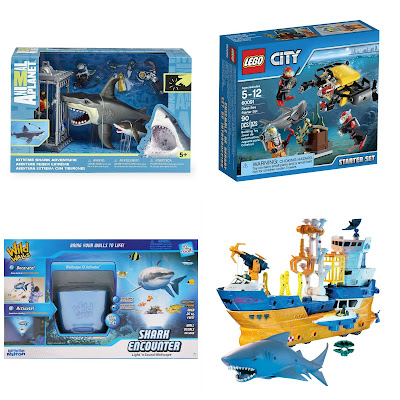 Shark toys for kids.