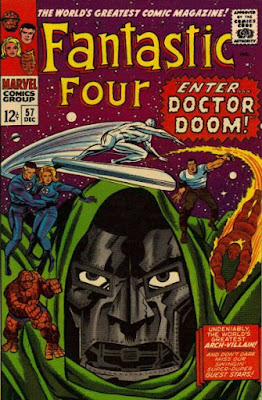 Fantastic Four #57, Dr Doom steals the power of the Silver Surfer