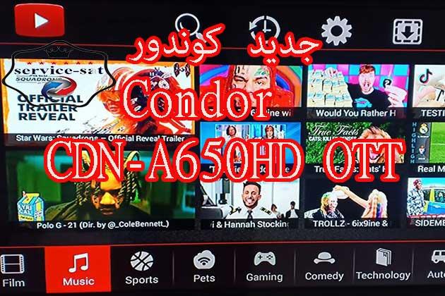 Condor CDN-A650HD OTT