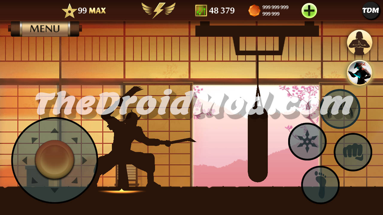 Shadow Fight 2 Max Level 99 Mod Apk Latest For Android Level 99 Unlimited Gems, Coins, Energy, Orbs Tickets, Enchantments, Exp Mega Mod APK For Android For Free Mega Mod 2