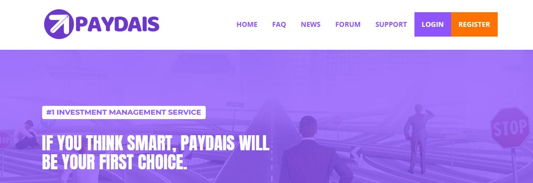 Мошеннический сайт paydais.com – Отзывы, развод, платит или лохотрон? Информация