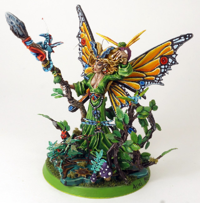 What's On Your Table: Bretonnia Green Knight and Lady