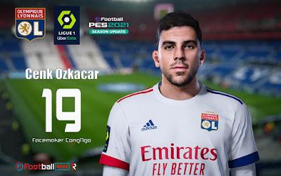 PES 2021 Faces Cenk Özkacar by CongNgo