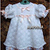 Beautiful white crochet dress free pattern