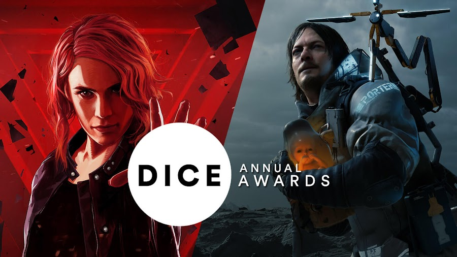 control death stranding most nominations 23rd dice awards kojima productions remedy entertainment sony interactive entertainment 505 games