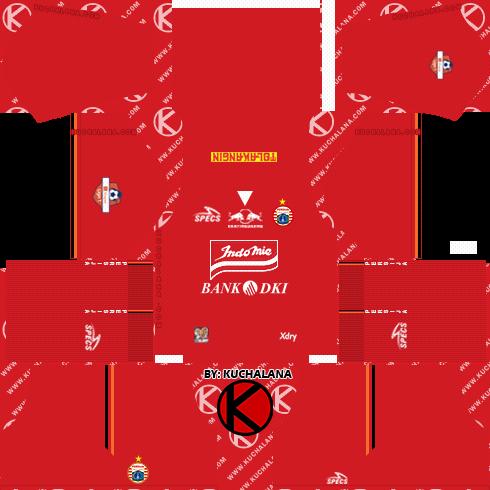 Persija Jakarta Kits 2019 - Dream League Soccer Kits