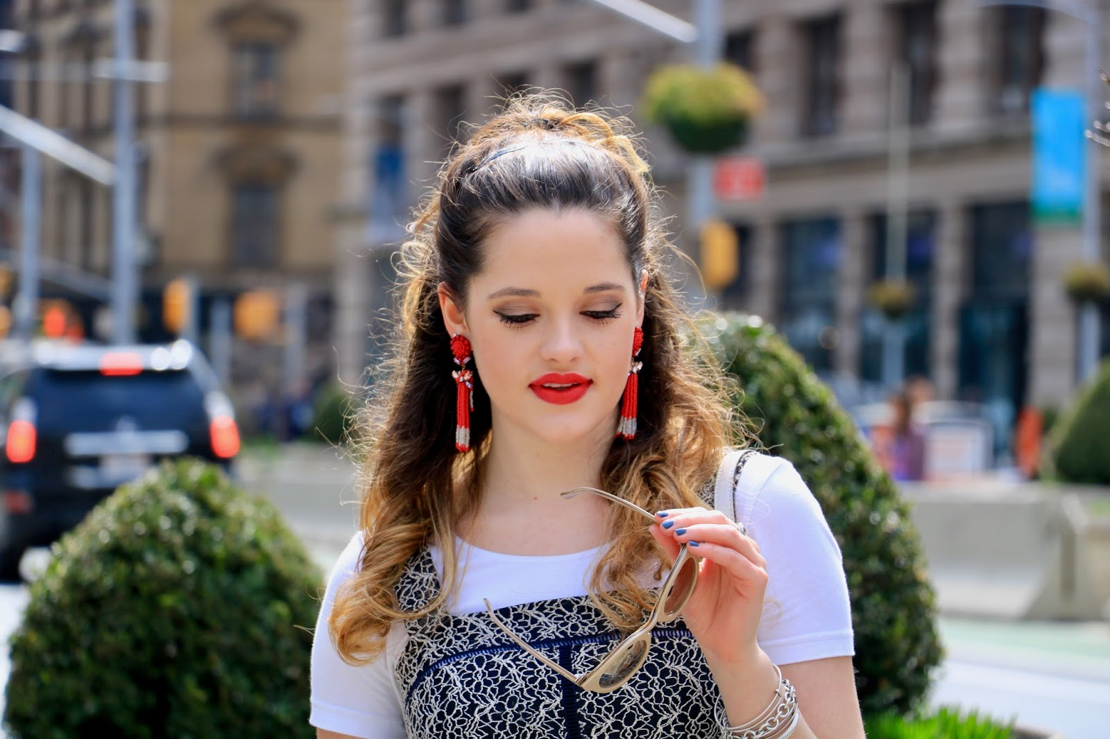 Beauty blogger Kathleen Harper's spring makeup ideas