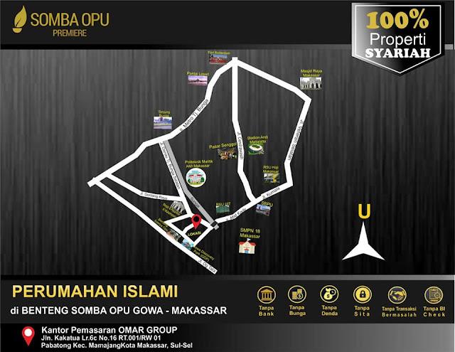 Somba Opu Premiere, Sabran Prpoperty Syariah, Property Syariah Makassar, Rumah Makassar, Rumah Halal