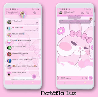 Animal Cute Theme For YOWhatsApp & Fouad WhatsApp By Leidiane