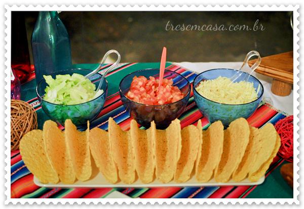 festa mexicana em casa