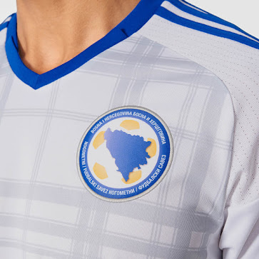 c84d4d6c2 Also just like the new Bosnia and Herzegovina 2016 Home Shirt, the Bosnia  2016 Home Kit is a mashup of sorts, borrowing parts from several older  Adidas ...