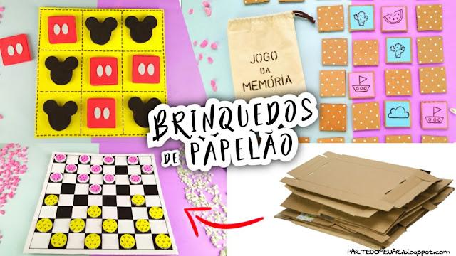 BRINQUEDOS PAPELAO
