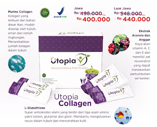 Utopia Collagen - Produk Baru Twin Tulipware