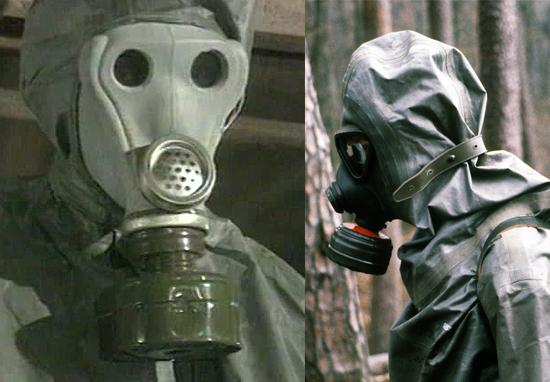 Trajes proteção biológico nuclear