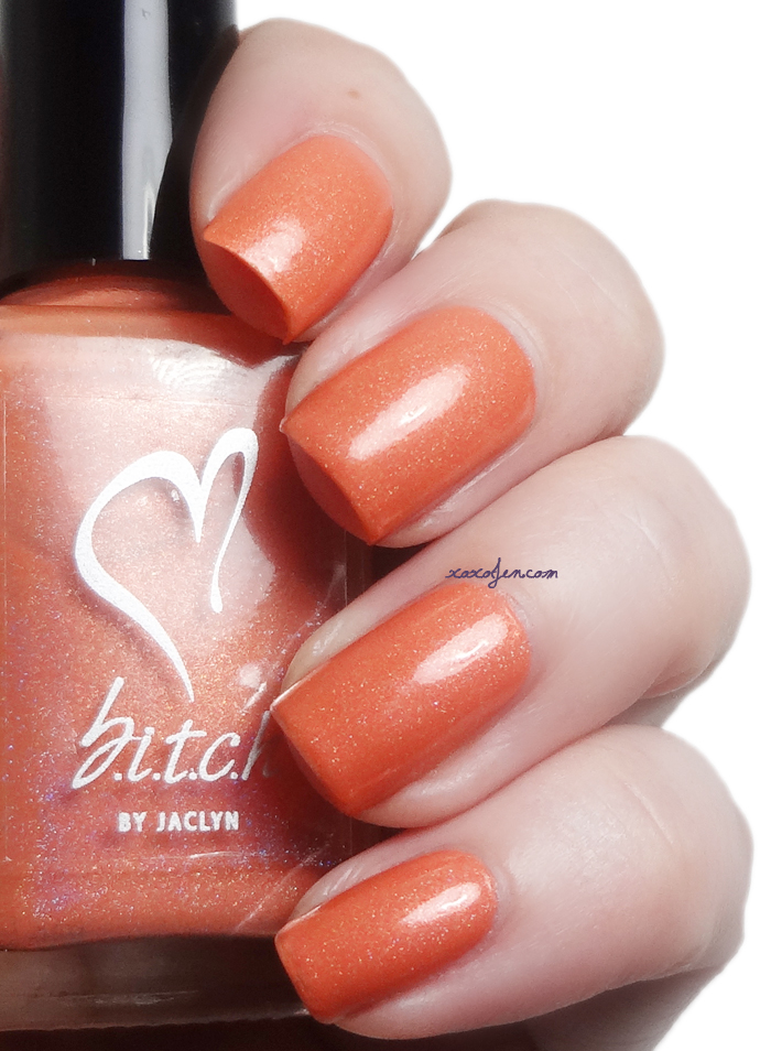 xoxoJen's swatch of b.i.t.c.h. by jaclyn Fertilize Her