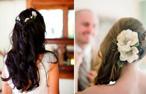 прическа невесты бохо стиль фото