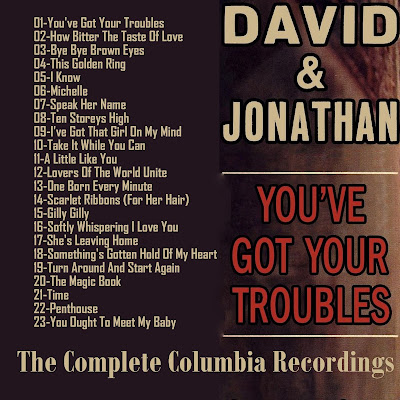 David & Jonathan - You've Got Your Troubles & The Greatest Hits