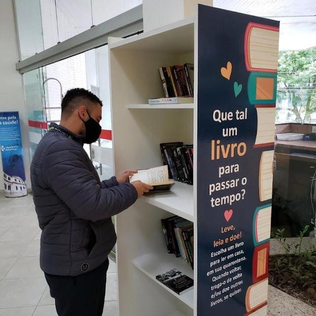 Hospital Santa Teresa promove ação para doação de livros