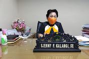 Sjenny F Kalangi di Usul Partai Gerindra Sebagai Ketua Fraksi