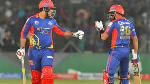 Karachi Kings defeated Lahore Qalandars by 10 wickets