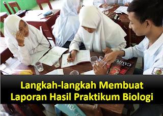 Langkah-langkah Membuat Laporan Hasil Praktikum Biologi