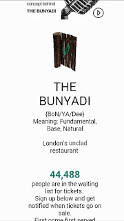 Naked restaurant the Bunyadi opens in London