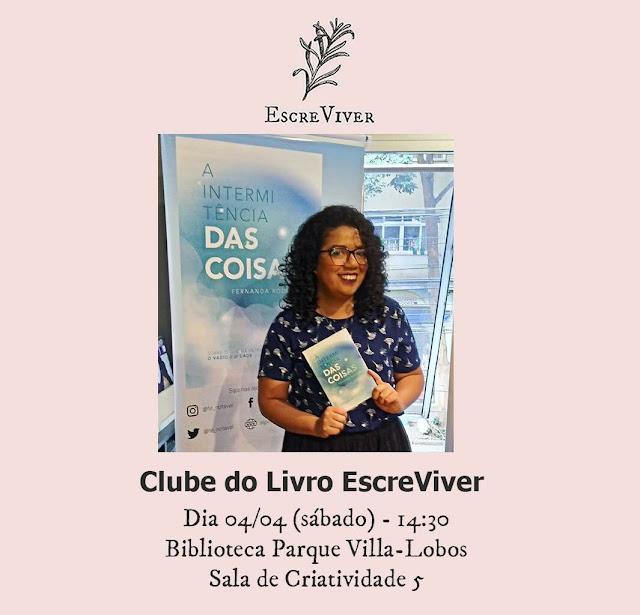 Algumas Observações | Livro A Intermitência das Coisas no clube de leitura Coletivo Escreviver