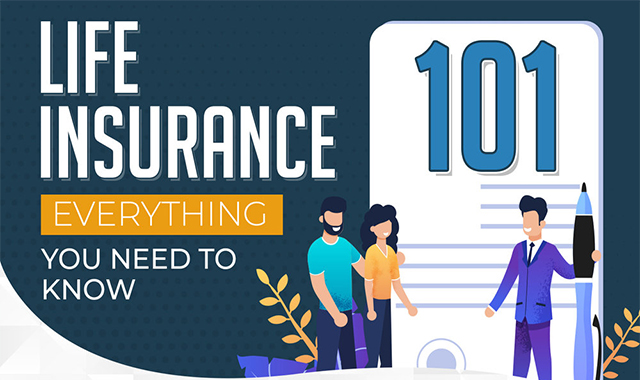 Life Insurance 101: Everything You Need to Know #infographic
