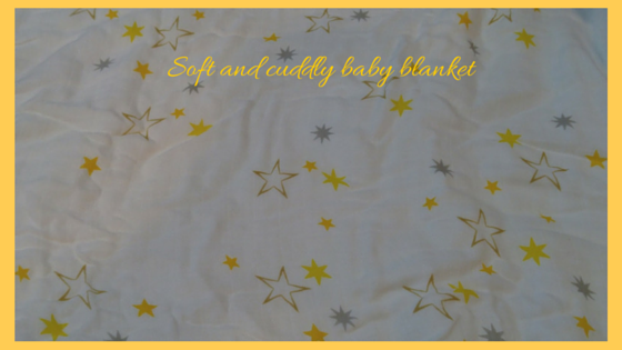 Cuddly blanket in #DreftSpring giveaway package