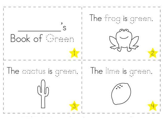 Gambar Mewarnai Booklet Untuk Anak