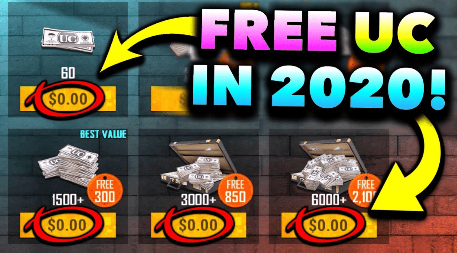 How To Get Free UC In Pubg Mobile In 2020 (Must Read)