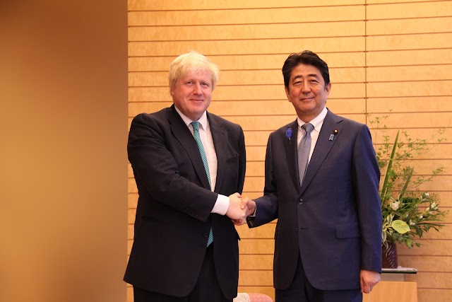 GEOPOLITICAL NEWS: UK secures first post-Brexit trade deal with Japan
