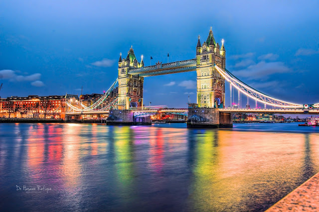 Photo: Tower Bridge and Colours of the Night