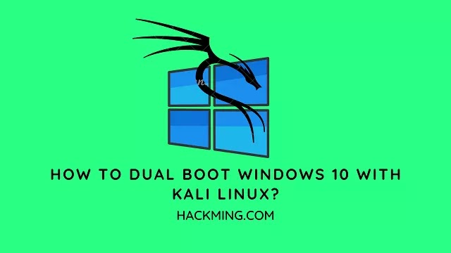 How To Dual Boot Windows 10 with Kali Linux?
