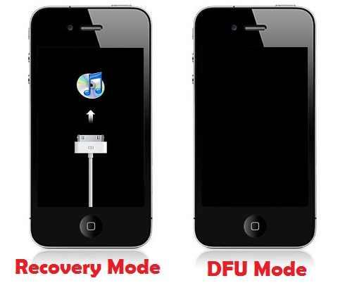 dfu mode iphone 3gs restore