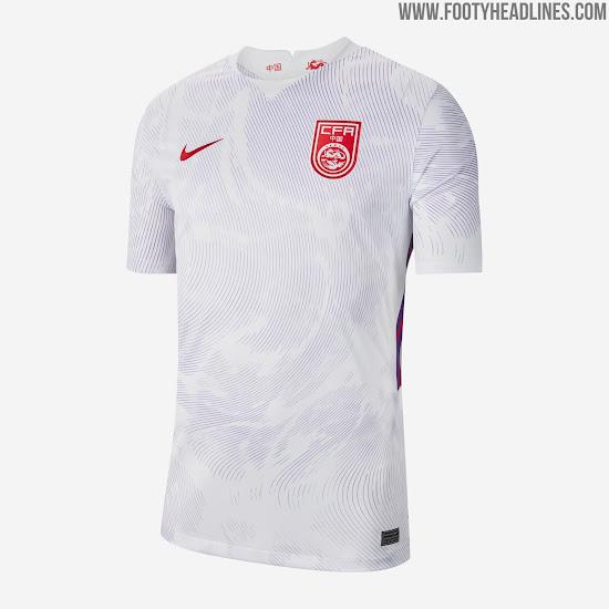 Nike China 2020 Home & Away Kits Released - Footy Headlines