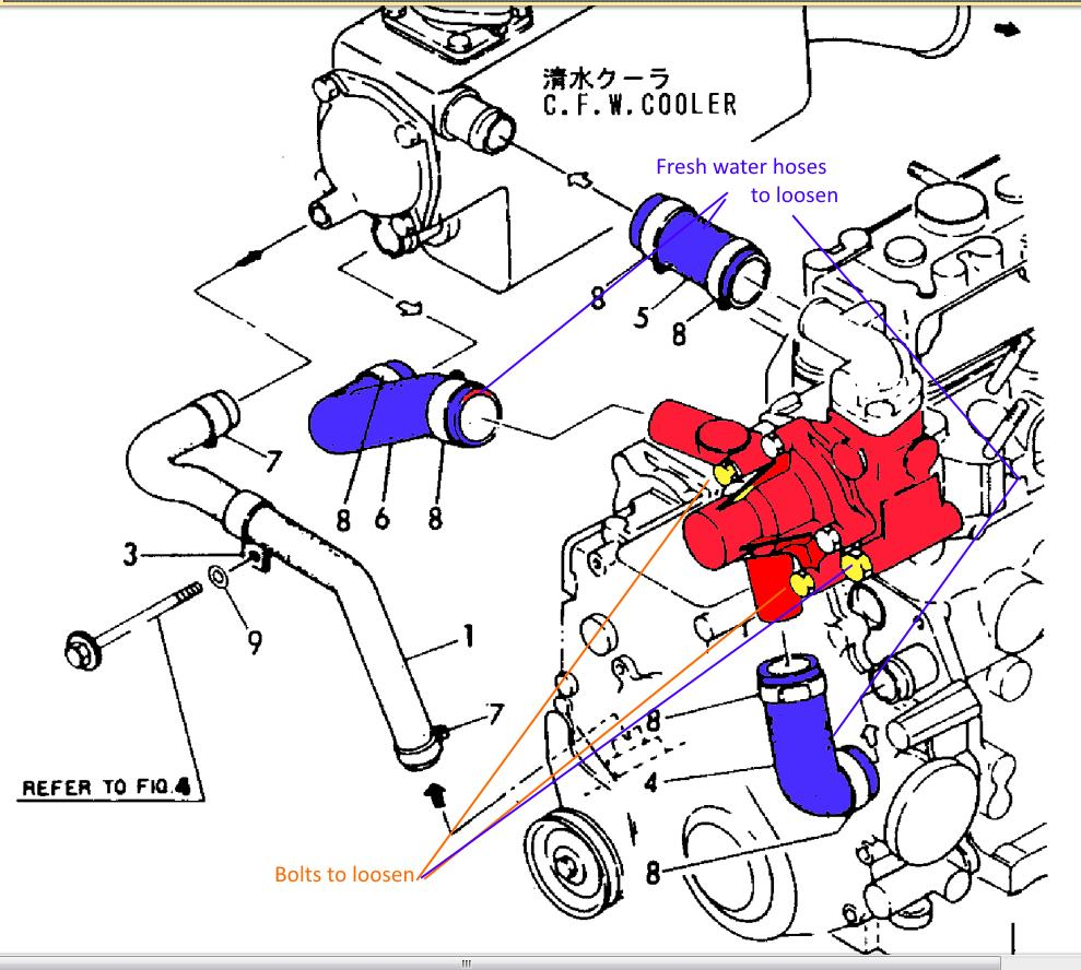 Ceilydh Set Sail: Yanmar 3GM30F Fuel Injection Pump removal - a