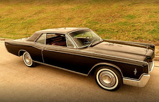 1966 Lincoln Continental Luxury Coupe Front Right