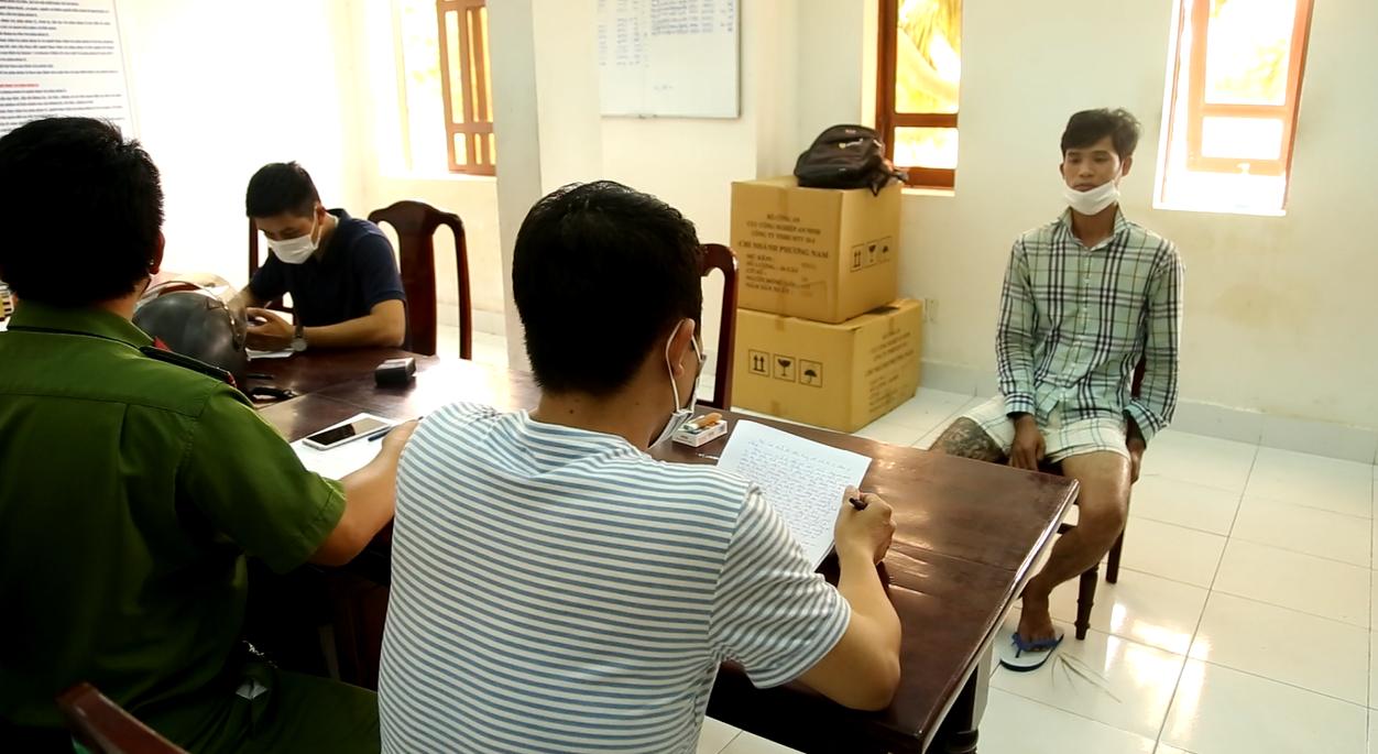 Công an huyện Thuận Nam, Ninh Thuận bắt đối tượng truy nã có 03 tiền án