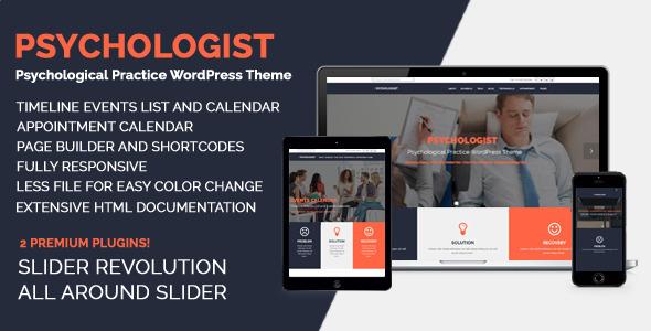 Psychologist Practice Responsive Wordpresss Themes